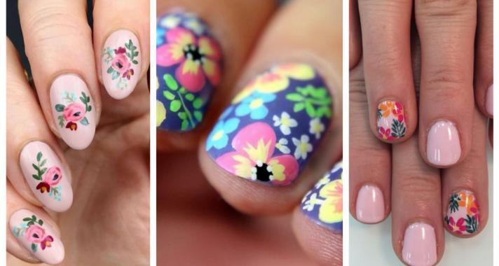Top15: hangolódj a tavaszra virágba borult körmökkel