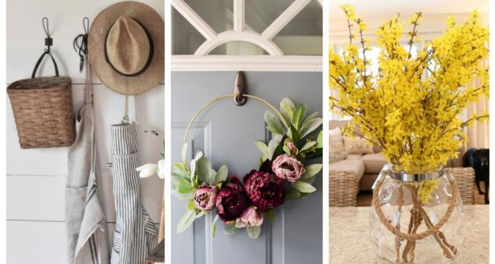 Top10: home decor ötletek a közeledő tavaszra