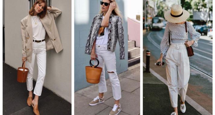 Stílusiskola: így viselj fehér nadrágokat