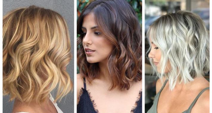 Top10: hullámos bob frizura, a tavasz kedvence