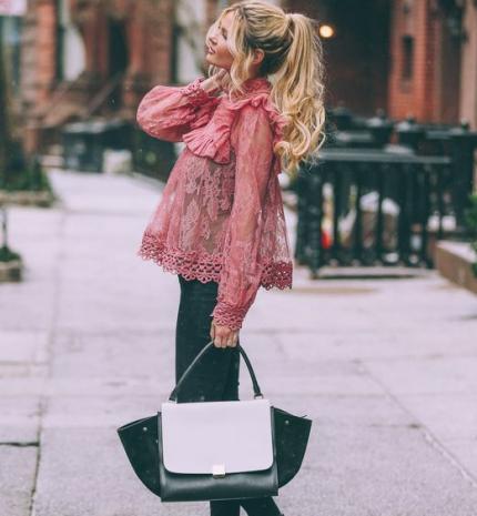 Stílusiskola: így viseld a tavasz kedvencét, a csipkét