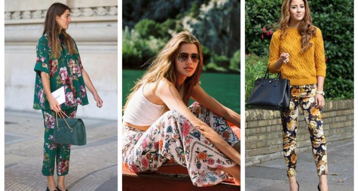 Stílusiskola: a legjobb outfit ötletek virágmintás nadrágokkal