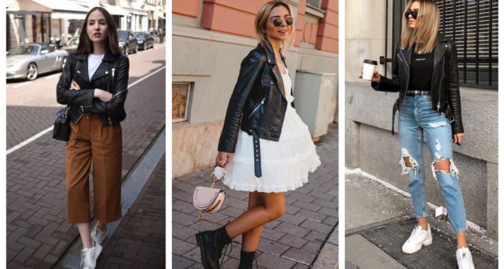 Stílusiskola: 10 outfit bőrdzsekivel hétköznapokra