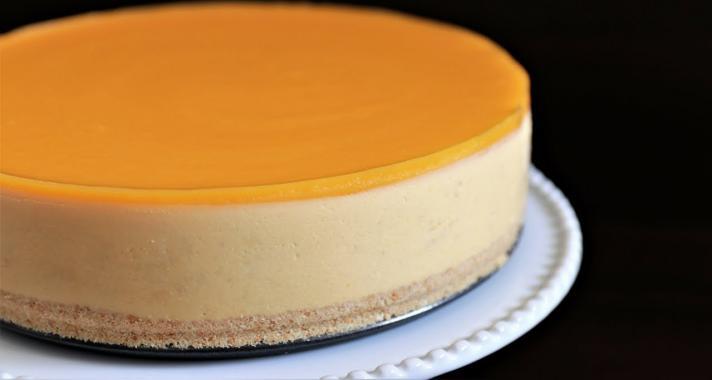 Mangós sajttorta recept