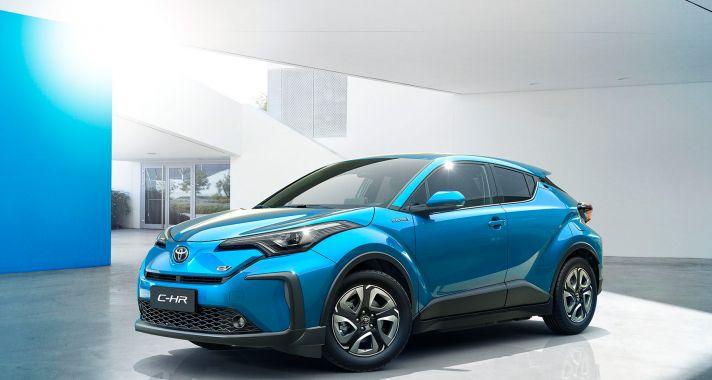 Először Kínában érkeznek az elektromos Toyoták