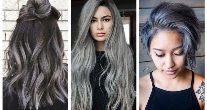 Top10: különleges hajszín ötlet - granny hair