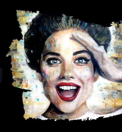 'Kislányok színpadra!' Hullan Bea festőművész kiállítása