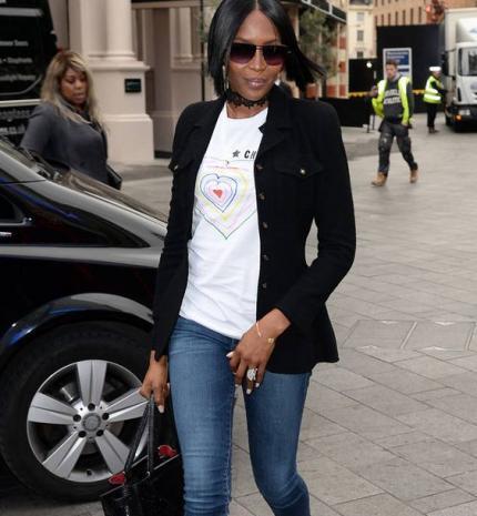 Stílusiskola: outfit ötletek Naomi Campbell