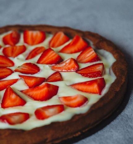 Epres-fehércsokis pite