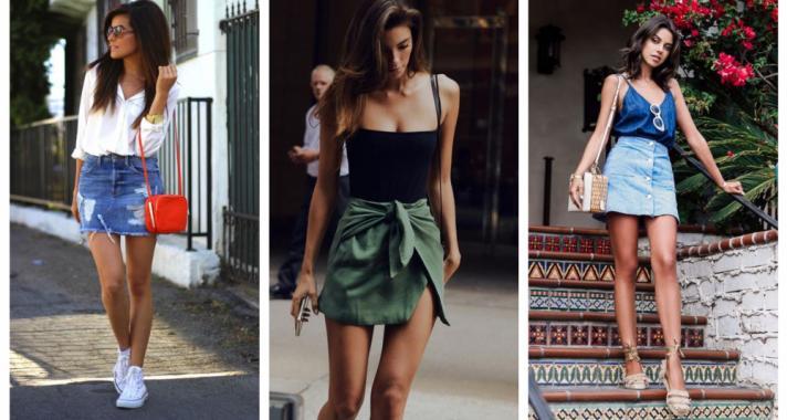 Stílusiskola: így viselj nyáron miniszoknyákat