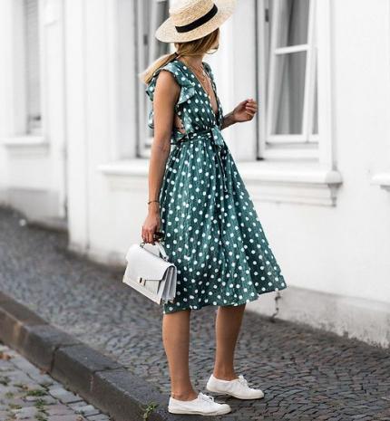 Stílusiskola: a nyár kedvencei a pöttyös ruhadarabok