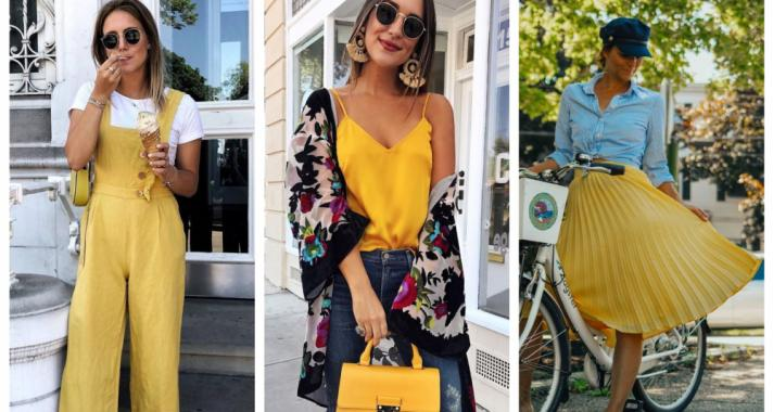 Stílusiskola: így viselj nyáron sárgát
