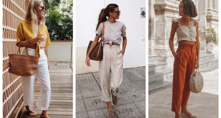 Stílusiskola: így viseld a nyár egyik must have darabját, a lenvászon nadrágot