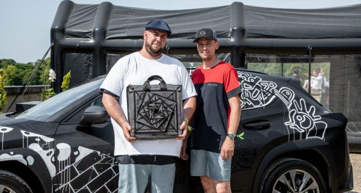 Megvannak a Lexus UX Art Car pályázat győztesei
