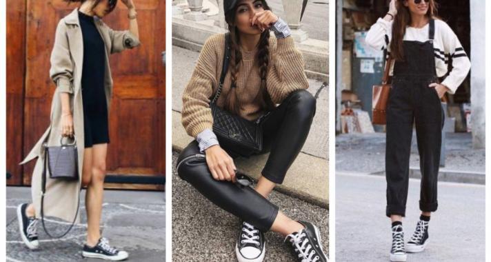 Stílusiskola: így viseld az alapdarabokat ősszel - tornacipő