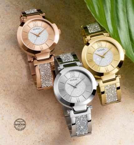 Feltűnő elegancia - Bemutatkozik a Guess őszi-téli óra kollekciója