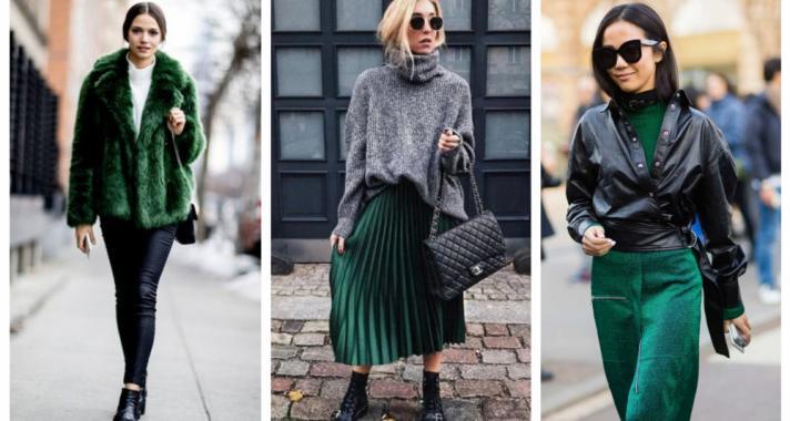 Stílusiskola: így viseld ősszel a smaragdzöld színt
