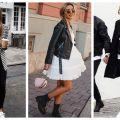 Stílusiskola: a legjobb fekete-fehér outfitek őszre