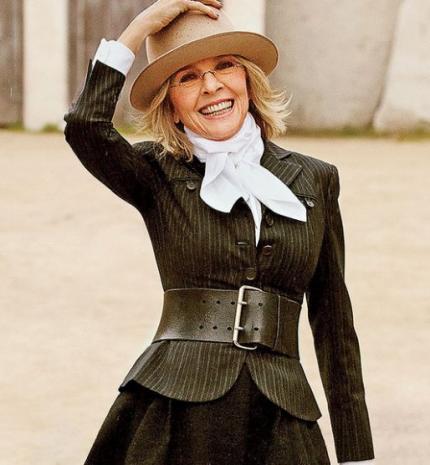 'Tartás kell ahhoz, hogy az ember feltárja a tökéletlenségeit.' Inspiráló idézetek Diane Keatontől