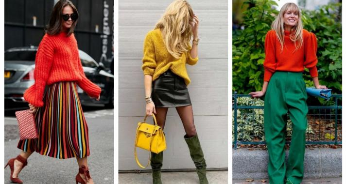 Stílusiskola: színes outfitek az őszi szezonra
