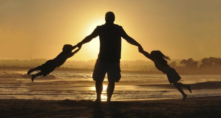 Egy igazi apának a családja az első