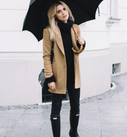 Stílusiskola: outfitek esős napokra