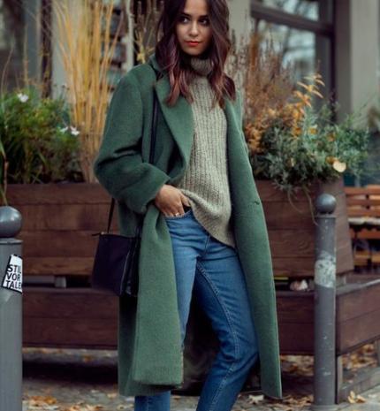 Stílusiskola: őszi outfitek zölddel
