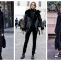 Stílusiskola: csinos fekete outfitek őszre