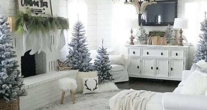 Home decor: Álom otthonok téli hangulatban