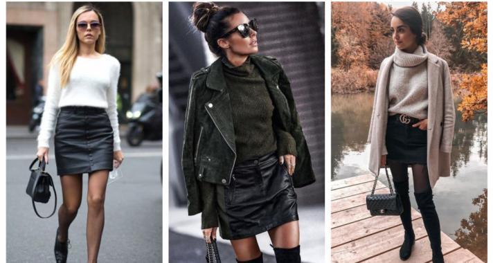 Stílusiskola: így viselj fekete miniszoknyákat