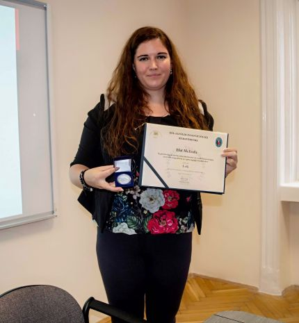 Innovációs díj első helyezettje lett Hal Melinda pszichológus