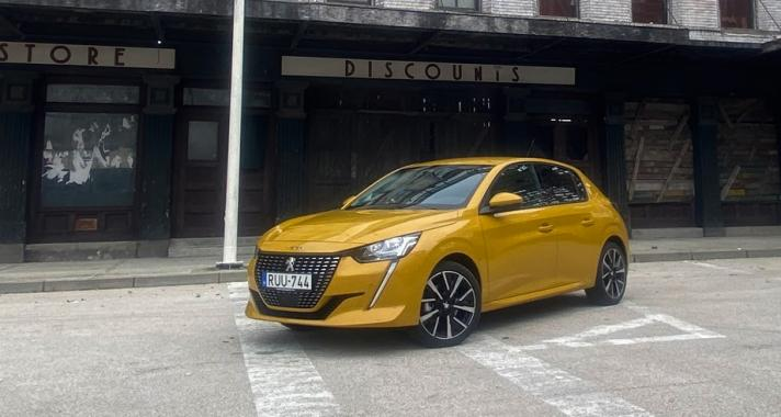 Peugeot 208 bemutató