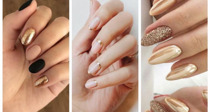 Top10: kifinomult elegancia - arany színű manikűr ötletek