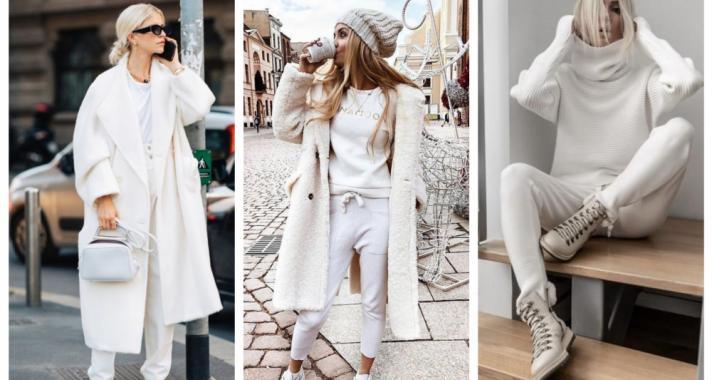 Stílusiskola: így viselj télen tetőtől talpig fehéret