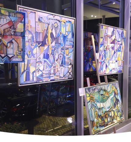 Art and Technology: Kortárs magyar festőművészeket támogat a Lexus