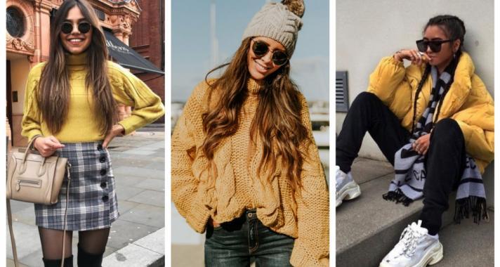 Stílusiskola: így viselj télen sárgát