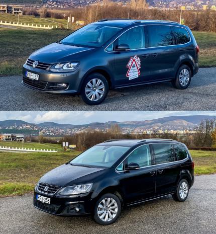 Másképpen izgalmasak – VW Sharan és Seat Alhambra
