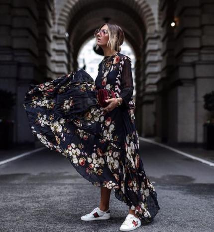 Divat & Stílus - Stílusiskola: a tavasz kedvencei lesznek a mintás maxi ruhák