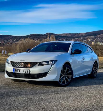 Autó & Motor - A zászlóshajó – Peugeot 508 SW GT Line 2.0 BlueHDI