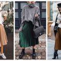 Divat & Stílus - Stílusiskola: így viselj ősszel pliszírozott szoknyákat