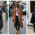Divat & Stílus - Stílusiskola: így viselj hosszú bőrkabátokat
