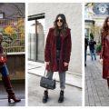 Divat & Stílus - Stílusiskola: így viseld télen a bordó színt