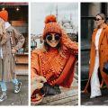 Divat & Stílus - Stílusiskola: téli outfit ötletek narancssárgával