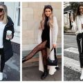 Divat & Stílus - Stílusiskola: fekete-fehér outfitek télre