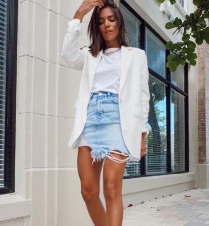 Divat & Stílus - Stílusiskola: így viselj nyáron fehér blézereket
