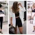 Divat & Stílus - Stílusiskola: a legjobb nyári fekete-fehér outfitek