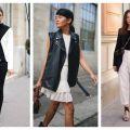 Divat & Stílus - Stílusiskola: a legjobb fekete-fehér outfitek őszre