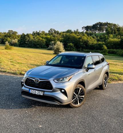 Autó & Motor - Nem Európának készült – Toyota Highlander AWD Executive