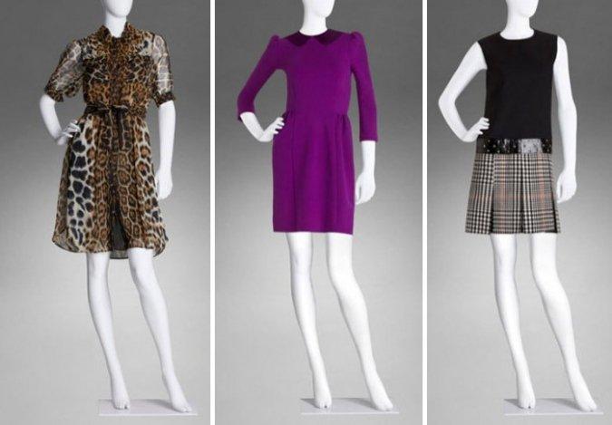 Íme, ezek Yves Saint Laurent ruhái!