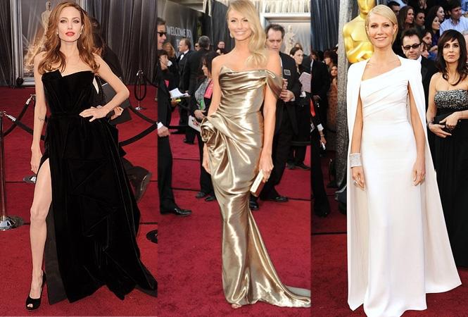 Oscar 2012: A vörös szőnyeg ruhái